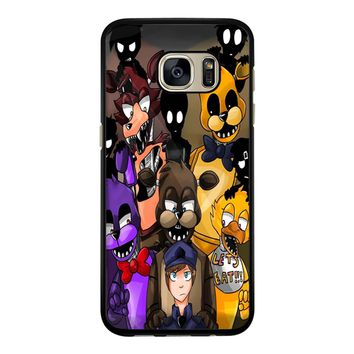 Five Nights At Freddys Fnaf And Friends Samsung Galaxy S7 Case