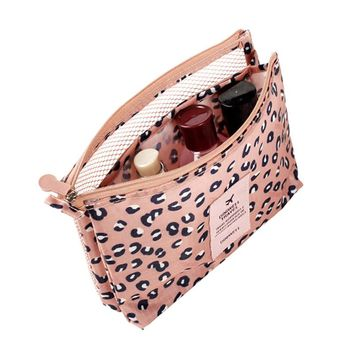 Itopkris New Arrivals Necessaire Small Cosmetic Bag Beautician Toiletry Bag Women Makeup Purse Travel Handbag Organizer Case