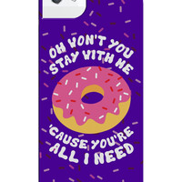 STAY WITH ME IPHONE CASE - iPhone