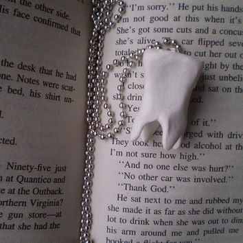 Giant Tooth Necklace