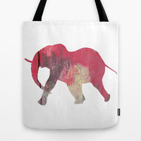 Elephant Tote Bag by C Designz
