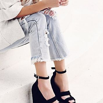 Jeffery Campbell Womens Dakota Wedge