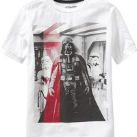 Old Navy Boys Star Wars Darth Vader Tees