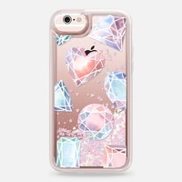 Casetify iPhone 6s Glitter case - Jewels by Four Wet Feet Studio