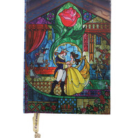 Disney Beauty And The Beast Stained Glass Journal