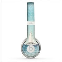 The Faded WaterColor Sail Boat Skin for the Beats by Dre Solo 2 Headphones