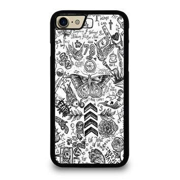 ONE DIRECTION TATTOOS iPhone 7 Case