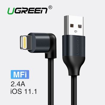 Apple MFi USB Cable For iPhone 7 X 8 6 2.A Fast Charging Data Cable for iPad Mobile Phone Charger Cable for iPhone 5S