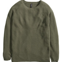 H&M Textured-knit Sweater $24.95