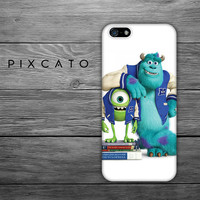 Mike and Sulley - Monster Inc. -  Monster University 03 - Iphone Case, Iphone 4/4S Case, Iphone 5 Case Hard Plastic, FREE Shipping Worldwide