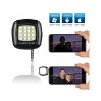 Creative Portable LED Selfie Flash for Any Smartphone