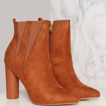 PENNY LANE BOOTIE - CAMEL