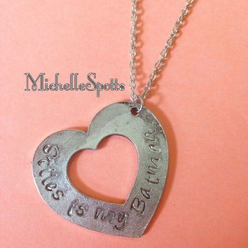 Teen Wolf inspired Necklace Stiles is my Batman necklace Stiles Stilinski Dylan Obrien Chain Heart Pendant charm