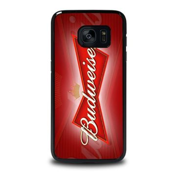 budweiser samsung galaxy s7 edge case cover  number 2