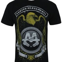 Asking Alexandria Eagle Men's Black T-Shirt - Buy Online at Grindstore.com