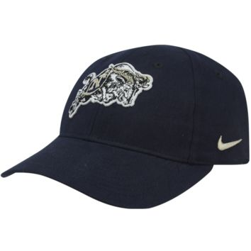 Nike Navy Midshipmen Preschool Classic Adjustable Hat - Navy Blue - http://www.shareasale.com/m-pr.cfm?merchantID=7124&userID=1042934&productID=528469666 / Navy Midshipmen