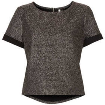 Metallic Bonded Tee - New In This Week  - New In