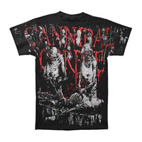 Cannibal Corpse Men's  Butchered At Birth AO T-shirt Black