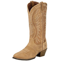 Ariat Womens Ammorette Brown Bomber R Toe Western Boots
