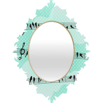 Belle13 Musical Nature Baroque Mirror