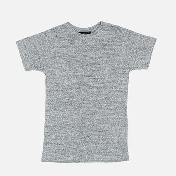 Classic Crew / Silk Blend Charcoal