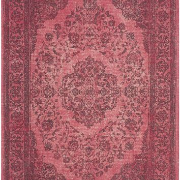 Classic Vintage Traditional Indoor Area Rug Fuchsia