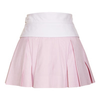 Irregular Pleated Skirt With Exposed Waistband by Alexander Wang - Moda Operandi