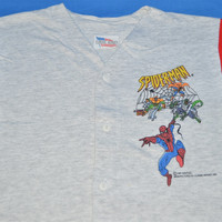 90s Spider-Man 1994 Jersey t-shirt Youth Medium