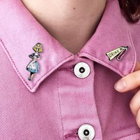 Alice Collar Pin Set