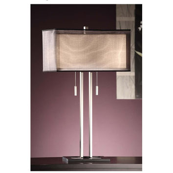 Crestview Collection Altus 2 Light Table Lamp