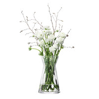 Flower Texture Mixed Bouquet Vase - Pleat Optic - H29cm from LSA