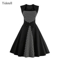 2016 New Arrival 1950S Sleeveless Knee Length A-Line Cocktail Dress Short Prom Dress Formal Party Dress Custom Made Gown