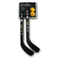 Franklin Mini 2 Hockey Stick Set - Boston Bruins