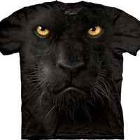 The Mountain Black Panther Face Mens and Youth T-shirt Tee:Amazon:Clothing