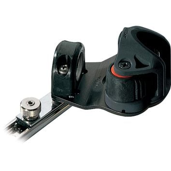 Ronstan Series 19 C-Track Slide - w-Swiveling Dead Eye - Cam Cleat - Spring-Loaded Track Stop [RC81942]