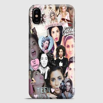 Marina And The Diamonds iPhone X Case | casescraft