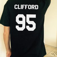 Clifford 95 black TShirt Unisex fangirls top shirt girls gifts funny tumblr instagram blogger fashion gifts teens teenagers