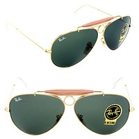 [Ready Stock] Summer AUthentic Rayban Sunglasses Shooter RB3138 001 Men Women Glasses