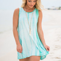 Fun In The Sun Dress, Mint