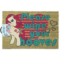 My Little Pony Wipe Your Hooves Doormat