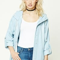 Contemporary Chambray Anorak