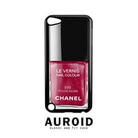 Chanel Nail Polish Rouge Moire iPod Touch 4 | 5 Case Auroid