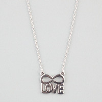 Infinite Love Necklace Silver One Size For Women 22502514001