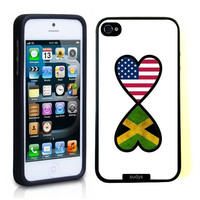 SudysAccessories American Jamaican Forever Jamaica Flag Infinity Forever Thinshell Case Protective iPhone 5 Case iPhone 5S Case