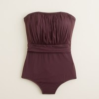 TULLE RUCHED BANDEAU TANK