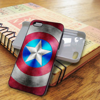 Captain America Super Heroes Marvel | For iPhone 5/5S Cases | Free Shipping | AH0857