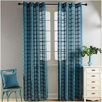 Sheer Curtains Window Treatments - Dolce Mela DMC490