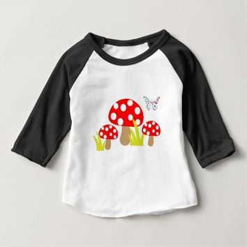 Mushrooms Baby T-Shirt