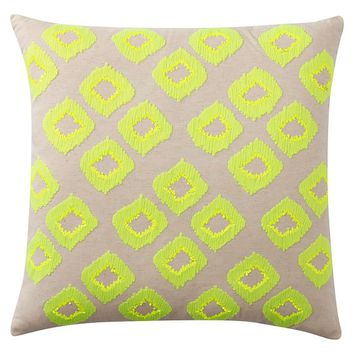 Diamond Sequin Euro Pillow Cover