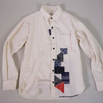 Japan Blue Jeans Bandana Re-make Shirt